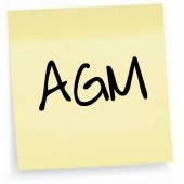 AGM – Nominations – Wed 3rd Feb