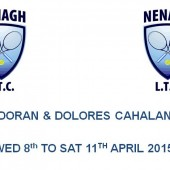 DOLORES CAHALAN & JOE DORAN CUPS – SCHEDULE OF PLAY
