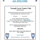 Adult Open Nights – Nenagh LTC