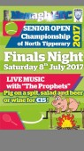Finals Night – Nenagh AIB Senior Open Week Saturday 8th July