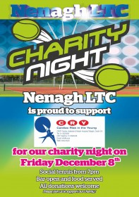Charity Night Schedule of Play – Friday 8th Dec 2017