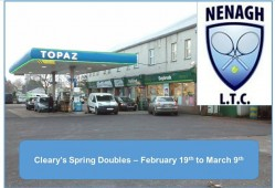 Cleary's Spring Doubles – Draws, Rules & Guidelines