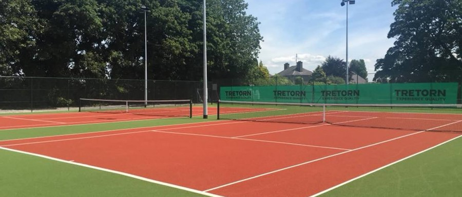 Official Opening of Courts 1 & 2