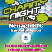 Charity Night Schedule of Play – Friday 6th Dec 2019