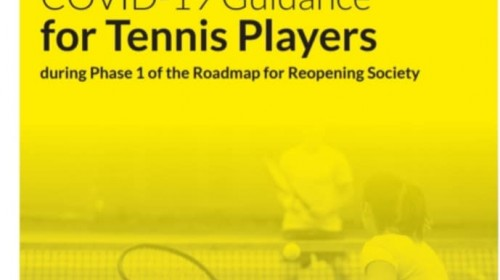 Phase 1 COVID-19 Guidance for Tennis Players