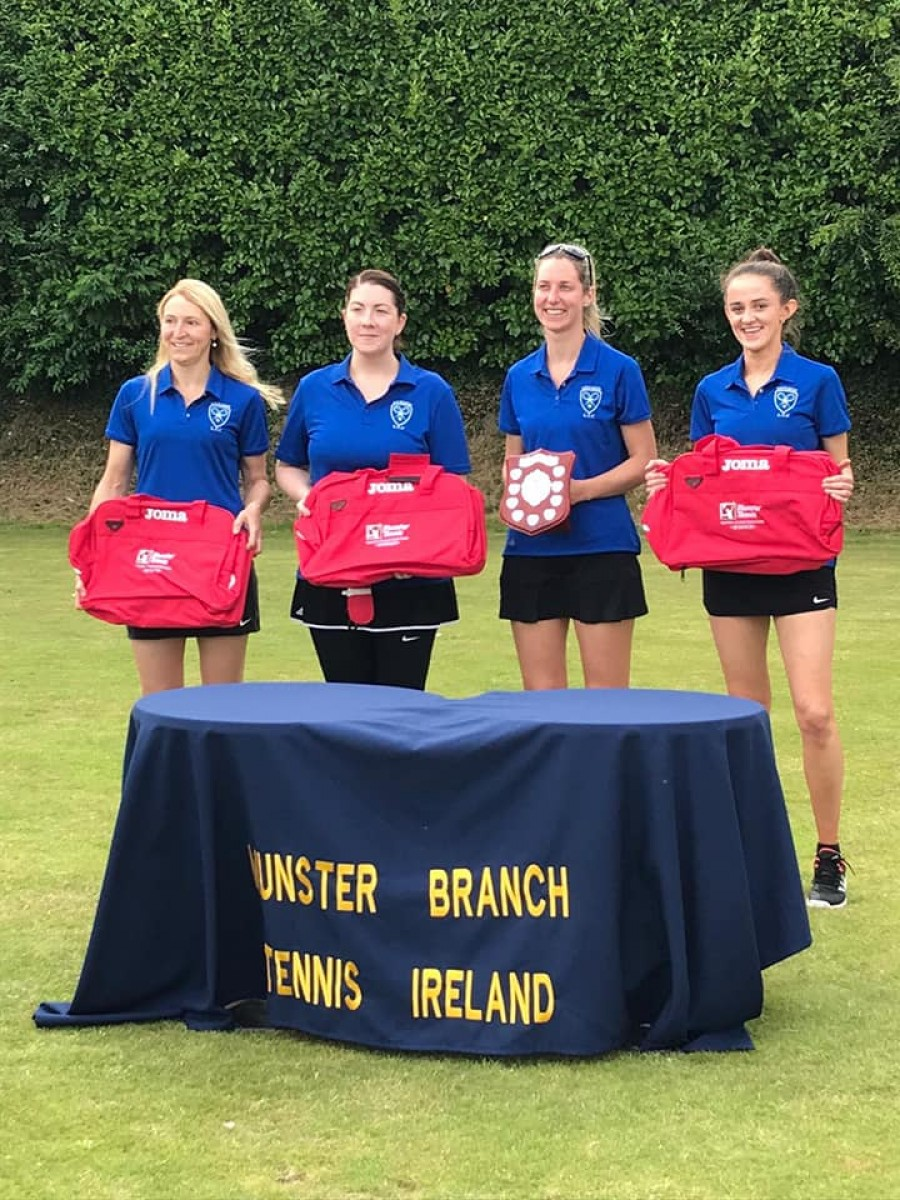 Nenagh Ladies Munster Tennis Success