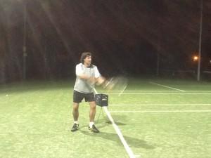Kieran in coaching action