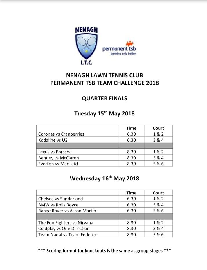 PTSB team-event-quarter-finals-2018