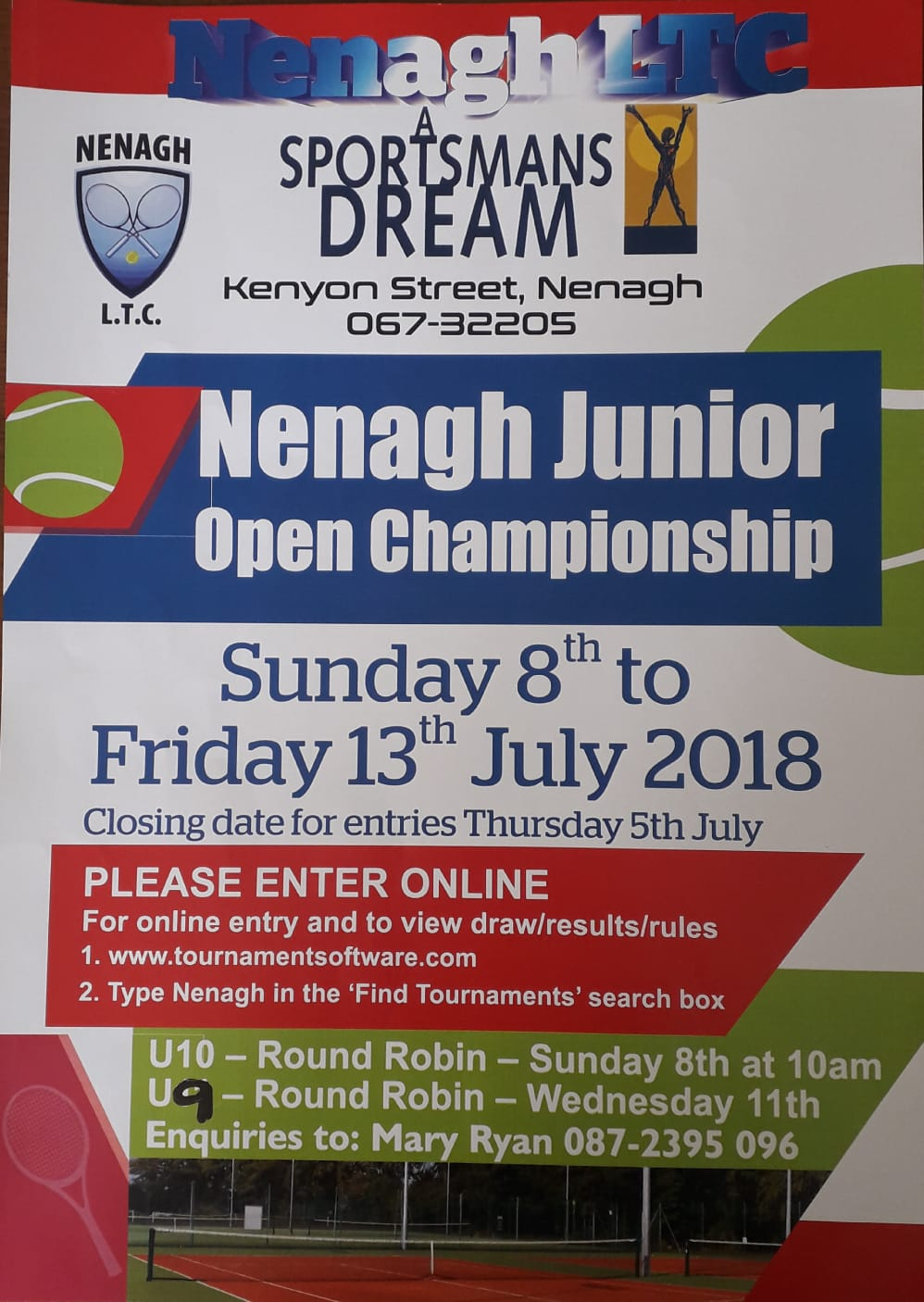 nenagh junior open