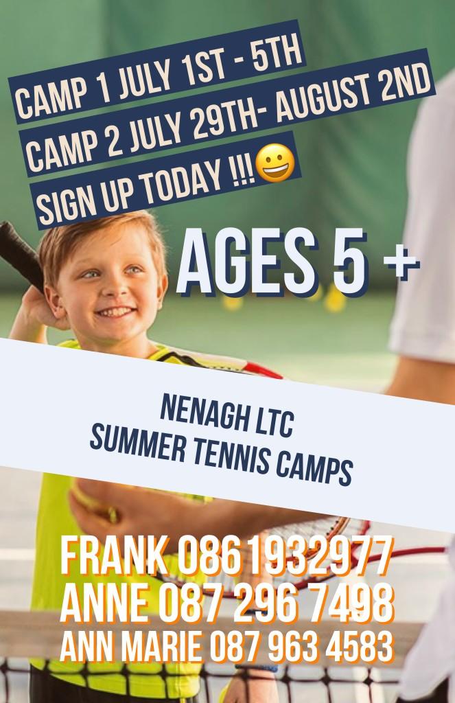 Junior summer camp 2019
