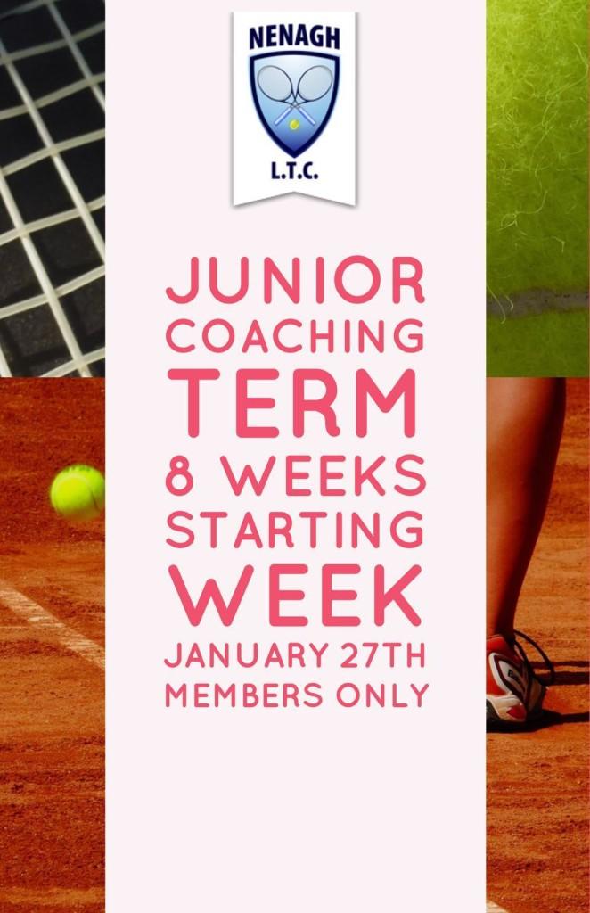 Junior Coaching Spring 2020